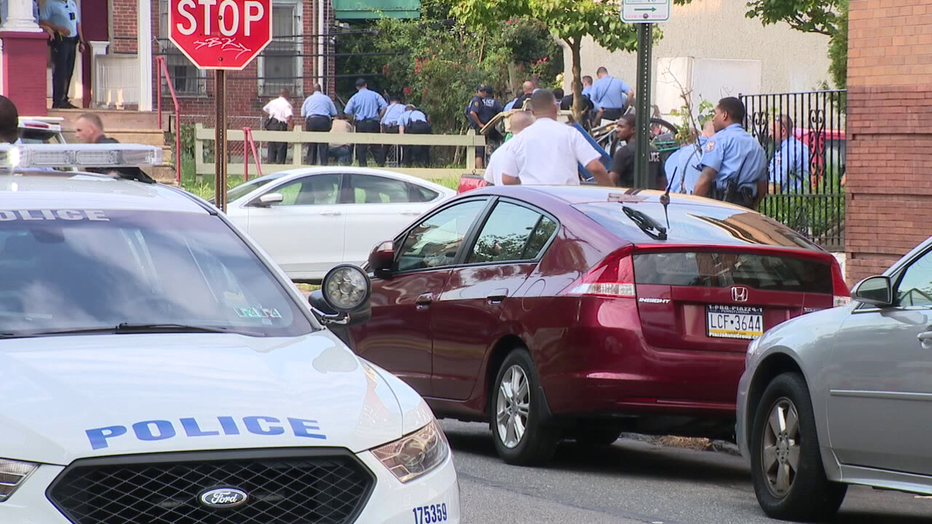 North Philadelphia police shooting