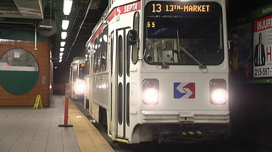 SEPTA Trolley Tunnel Blitz