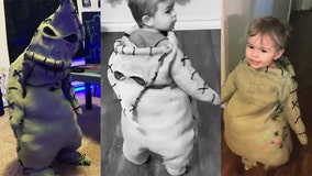 Mom transforms son into pint-sized Oogie Boogie ahead of Halloween: 'He was mesmerized'