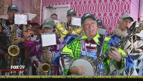 Uptown String Band rocks Bristol Borough Town Takeover