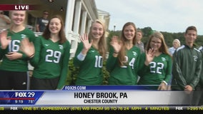 Twin Valley High School joins Town Takeover