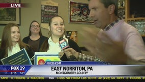 Town Takeover: Pope John Paul II students hang with Bob