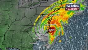 Dorian makes landfall over Cape Hatteras as Category 1 hurricane