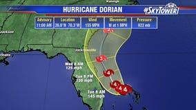 Hurricane Dorian: Slow-moving Category 4 storm pounds Bahamas and kills 5, inches closer to US coast