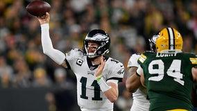 Philadelphia Eagles defeat Green Bay Packers 34-27
