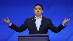 Yang announces plans to give away $1K per month to 10 families
