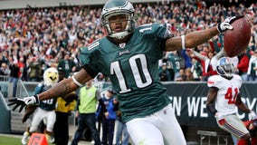 DeSean Jackson expected to miss 2 weeks with abdominal strain