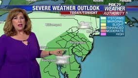 Weather Authority: Humid Thursday, chance of evening storms