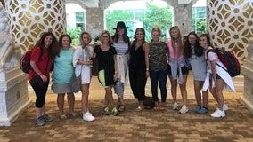 Ga. bride turns bachelorette party into Hurricane Dorian relief mission