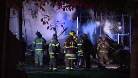 Home destroyed after fast-moving fire in Gloucester County