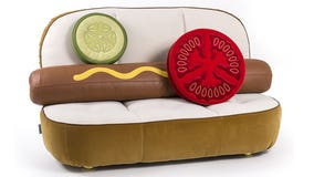 The hot dog couch of your dreams will only set you back $7,100