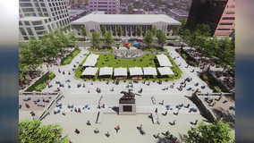 Rodney Square $7M reconstruction project breaks ground