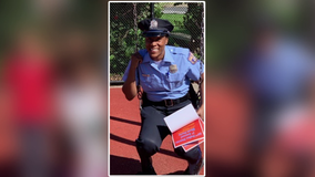Philadelphia police officer opens gym in West Philadelphia