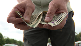 Good Samaritan turns in money found in parking lot at Giant in Lower Saucon Twp.