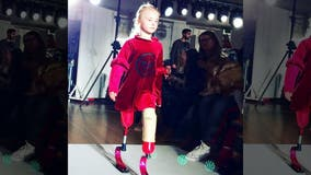 Double amputee, 9, to walk New York Fashion Week runway: 'Disability doesn't stop you'