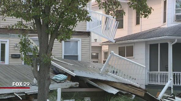 Neighbors share the horror of decks collapsing in Wildwood