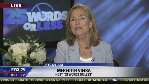 Meredith Vieira, host of new game show '25 Words or Less', speaks with Good Day