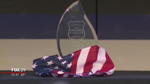 Fifteen Awards of Valor presented to heroic police officers, firefighters