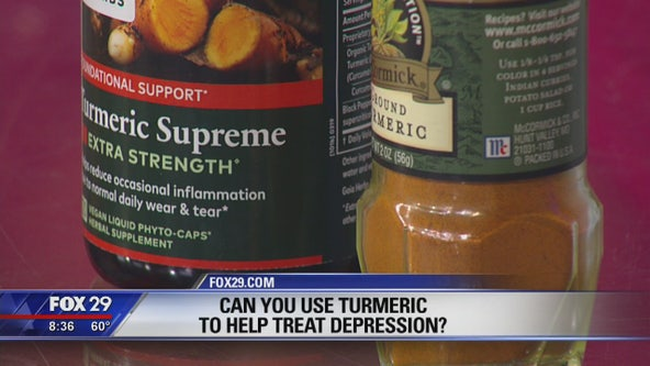 Can you use turmeric to help treat depression?