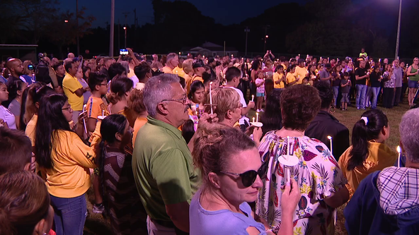 Emotional night as hundreds attend vigil for Dulce Maria Alavez