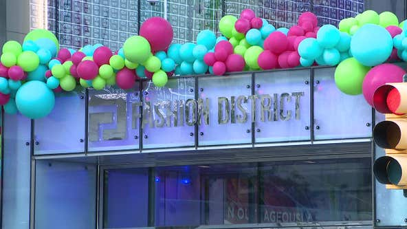 Center City's Fashion District opens to public Thursday