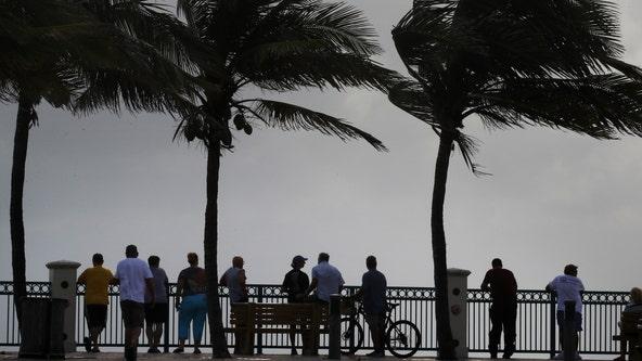 East coast of Florida waits for Hurricane Dorian's anticipated turn