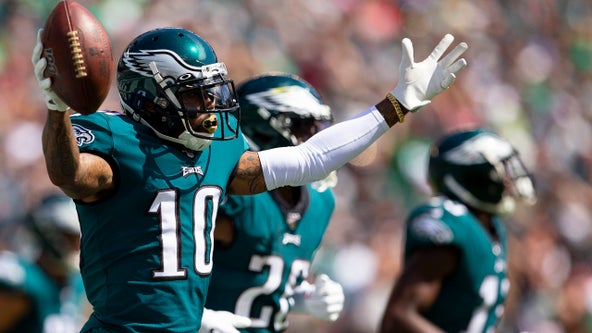 Eagles' DeSean Jackson donates $30K to youth football team