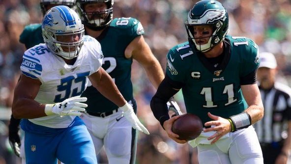 Eagles fall to Lions 27-24 in third game of season