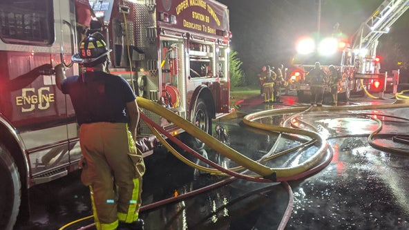 Crews battle 3-alarm fire at nursing home in Lehigh County