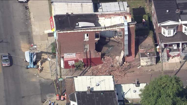 Robinson Street building collapse