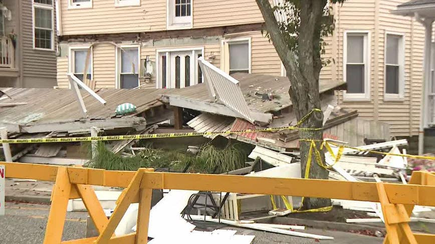22 injured after decks collapse in Wildwood; 3 at trauma center