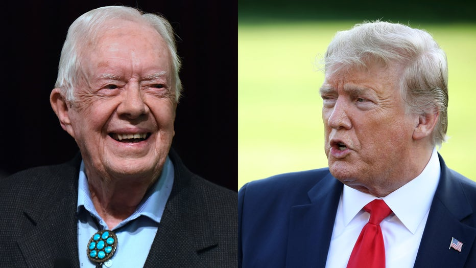 Jimmy Carter Says 4 More Years Of President Trump Would Be A Disaster