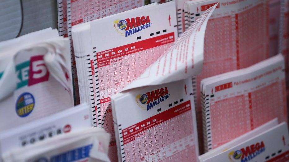 Mega Millions lottery tickets