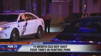 11 month old child critical after shooting in Hunting Park
