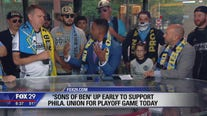 Sons of Ben join Good Day ahead of Philly Union playoff game