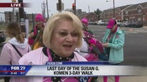 Last day of Susan G. Komen 3 day walk