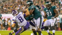 As Eagles return to Super Bowl site, Vikings await in key game
