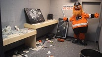Wells Fargo Center unveils 'Disassembly Room' where fans can let out their rage