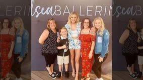 Country star Kelsea Ballerini surprises blind boy battling cancer with special gift