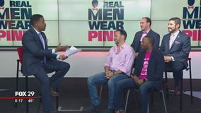 Men join the fight against breast cancer with 'Real Men Wear Pink'