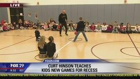 Dr. Recess teaches kids new, fun schoolyard games