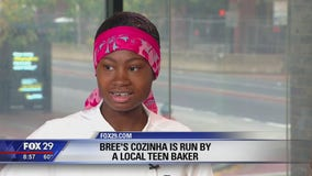 Teen wows Good Day Weekend with baking skills