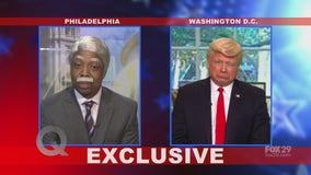 Jahiem Gardner interviews Donald Trump on The Q