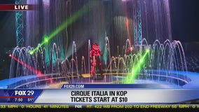 Traveling water circus hits King of Prussia