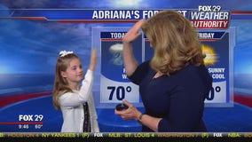 Adriana Ryan Guest Weather Presenter