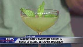 Eagles-themed drinks to enjoy during Sunday's matchup