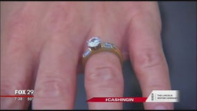 Set a safe budget when shopping for an engagement ring