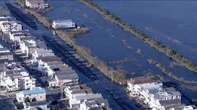 Coastal flooding overcomes New Jersey ocean communities