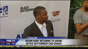 Kevin Hart releases statement following September crash
