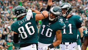 Defense dominates, Eagles rout winless Jets 31-6